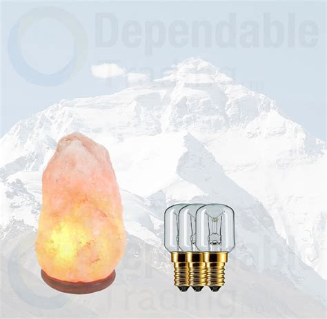 small himalayan salt l 3 x 15w himalayan rock salt replacement bulbs for ls