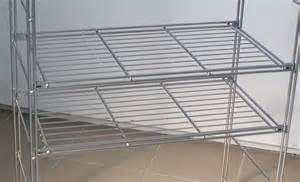 metall regale metallregal basic gitterboden