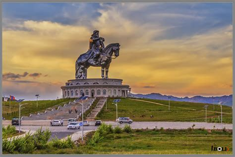 how big is a chingis khaan statue at tsonjin boldog mongolia 2014 flickr