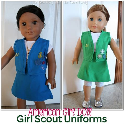 free patterns american girl doll free american girl doll patterns girl scout uniform