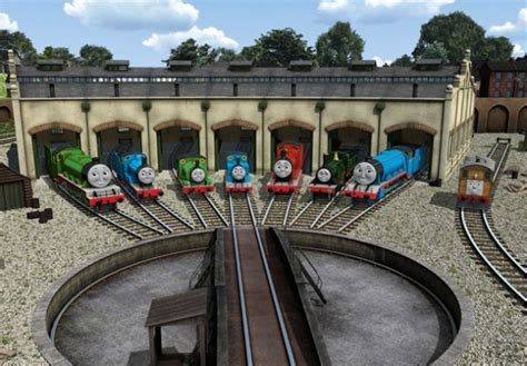 The Tank Engine Sheds by The Think Tank Engine Overthinking It