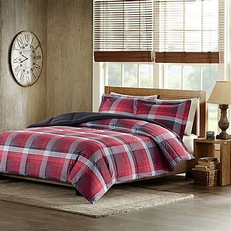 woolrich bedding discontinued woolrich terrytown comforter set in red bed bath beyond