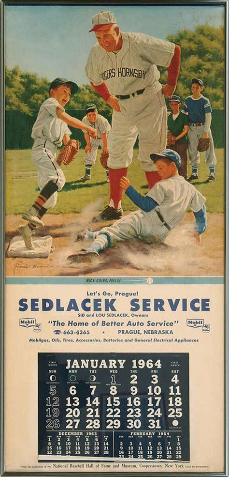 robert edward auctions  baseball calendar