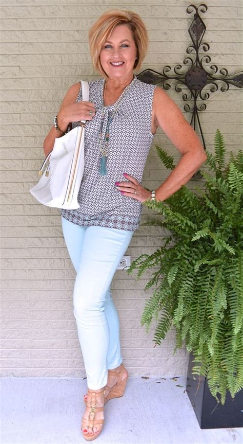 spring oufits for 60 year olds fashion over 40 jeggings and over 40 on pinterest