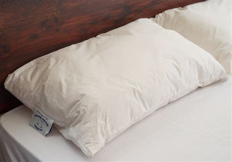 bed pillow wool filled pillows natural bed company
