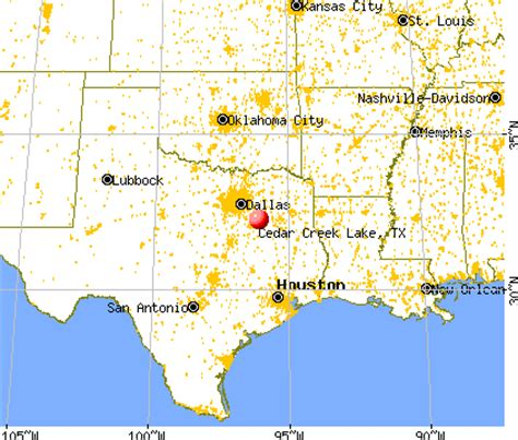 cedar creek texas map cedar creek lake texas tx 75103 profile population maps real estate averages homes