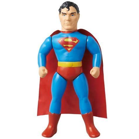 Mainan Superman Bizarro 1 Figure superman and bizarro sofubi plastic and plush