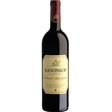Happy Hour 2003 Franus Cab Sav by Kanonkop Cabernet Sauvignon 2003 Or 2005 750ml Call A