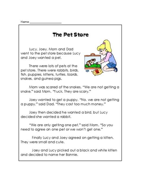 printable children s ghost stories 43 best images about reading comprehension worksheets on