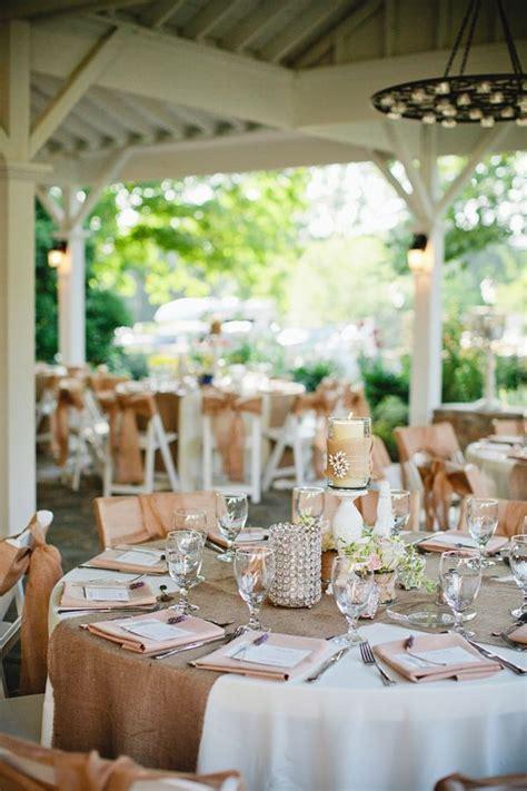 Burlap Wedding Tablescape   Burlap Wedding Ideas