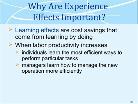 Important Things To Learn In Mba by Mba 531 Week 5 Overview Chap 13 15
