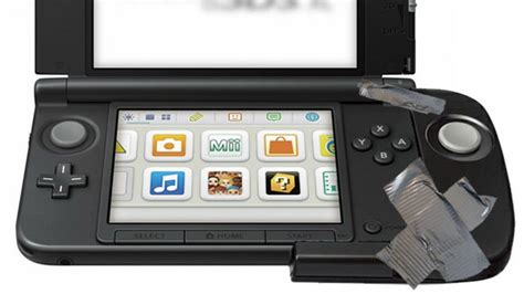 3ds xl gets second analog stick