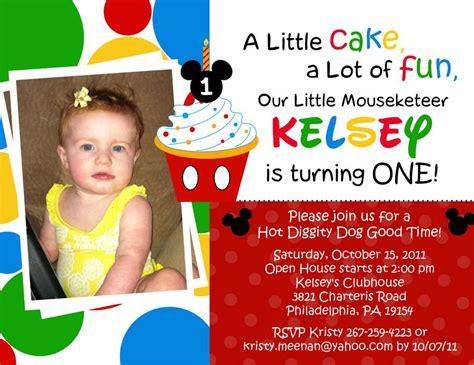 mickey mouse 1st birthday invitation by shortcakesdesigns on etsy