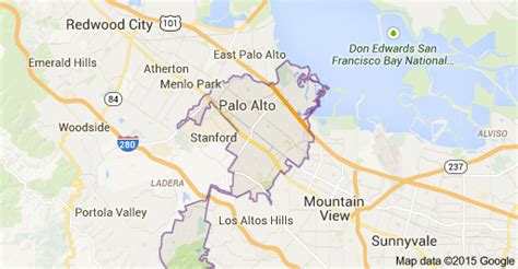 california map palo alto rainbow swing sets play structures for palo alto