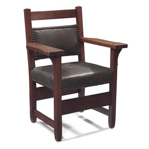stickley armchair gustav stickley armchair 2584 lot 118