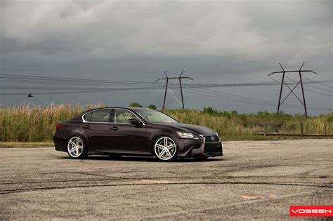 lexus gs350 slammed lexus gs350 slammed on vossen cv5 wheels video