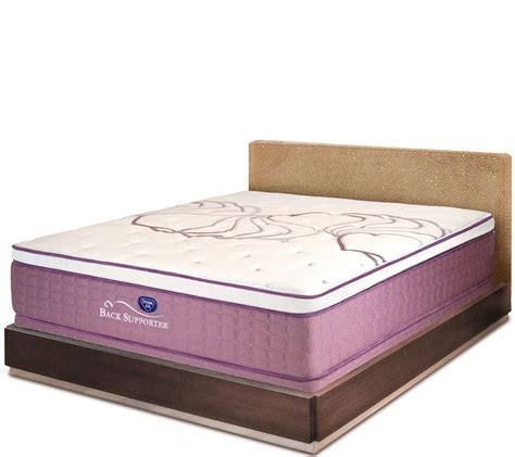 air sleep sense 15 5 quot luxury firm mattress set qvc
