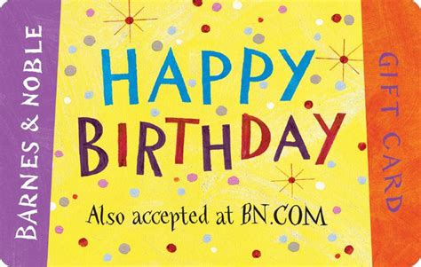 Where To Get Barnes And Noble Gift Cards - happy birthday gift card 2000003505135 item barnes noble 174