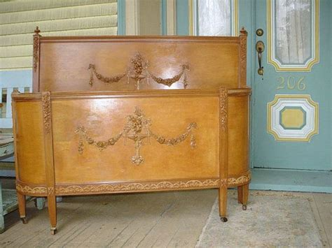 antique headboard and footboard antique french bed headboard curved footboard original