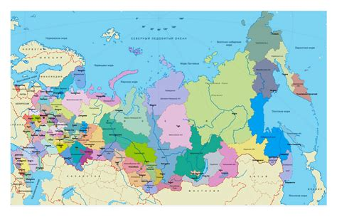 moscow russia europe map regions map of russia in russian russia europe