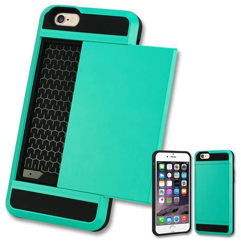 Back Verus For Iphone 6 5 5 verus card pocket slim hybrid wallet bumper cover for
