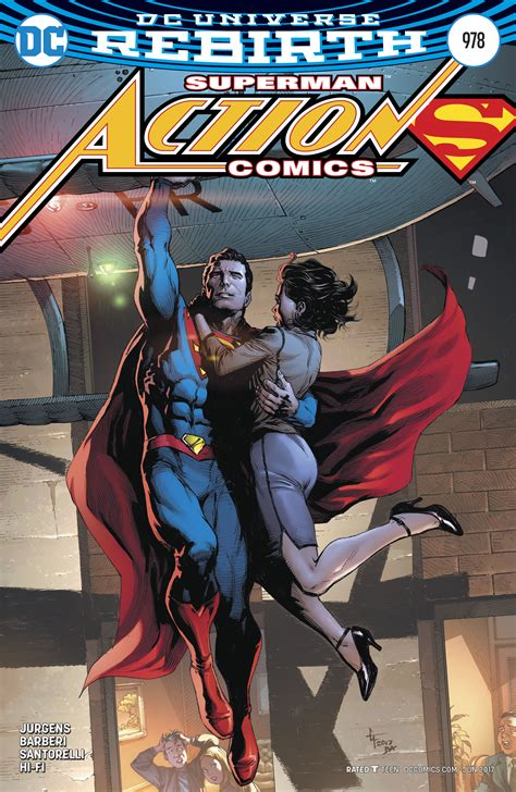 Superman Rebirth Dc Comic dc comics rebirth superman reborn aftermath spoilers review comics 978 new history