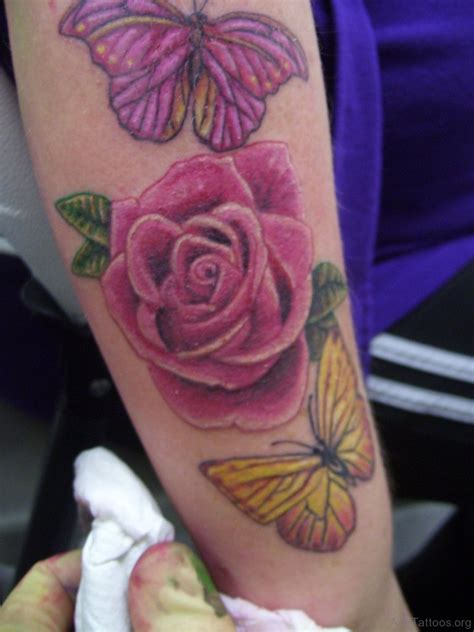 roses and butterfly tattoo designs 61 ravishing butterfly tattoos on arm