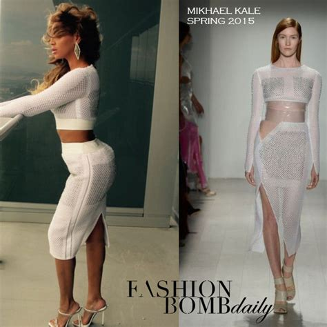 Beyonce Shows Trend High Belted Waists by Or Hmm Beyonc 233 S Official Website Mikhael Kale