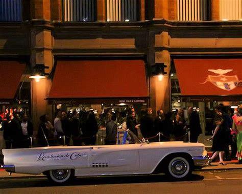 bars on top of car bars on top of car revolucion de cuba manchester blue