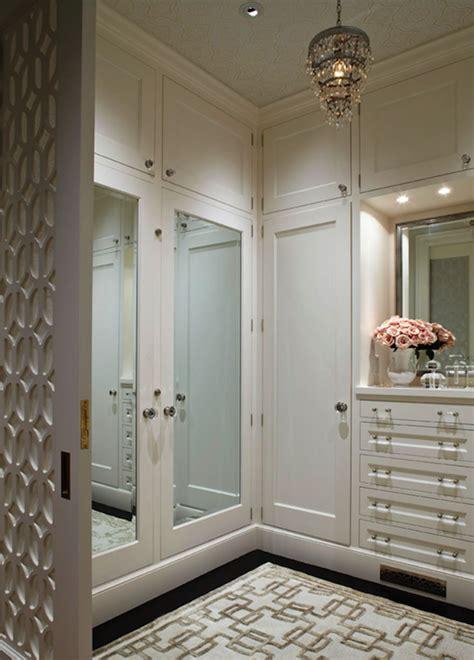closet mirrored wallpaper dressing room dream closet chandelier transitional closet benjamin moore