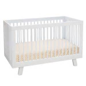 Baby White Cribs Babyletto Hudson Convertible Crib White Baby Room Ideas