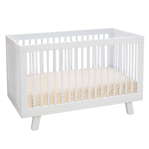 White Convertible Baby Cribs Babyletto Hudson Convertible Crib White Baby Room Ideas