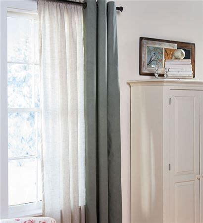 curtains for drafty windows 95 26quot l thermalogic 26 153 thermasheer 26 153