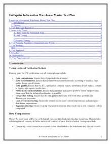 download test plan template with sample data