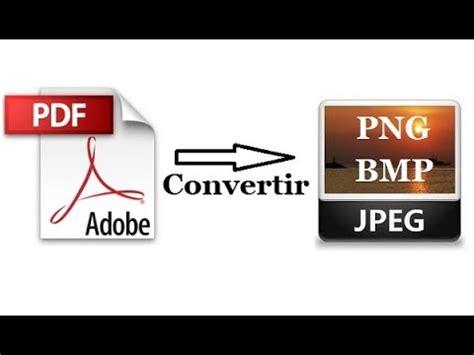 convertir imagenes bmp a pdf convertir pdf en jpeg jpg png bmp youtube