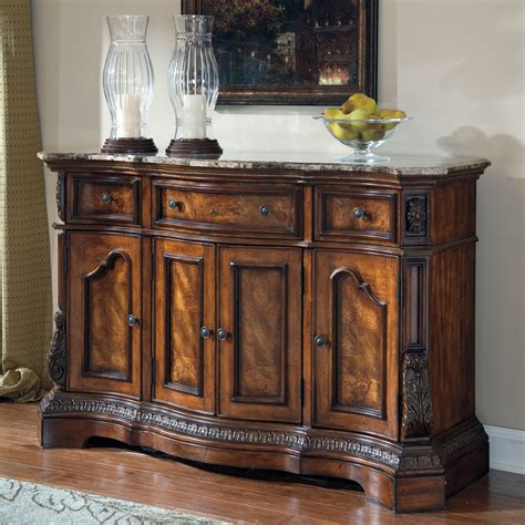dining room furniture server signature design by ashley ledelle dark cherry dining