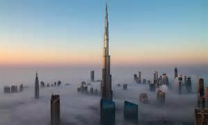 rising   clouds  worlds tallest building
