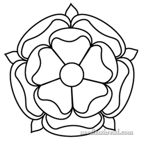 tudor rose coloring page free hand embroidery pattern tudor style rose