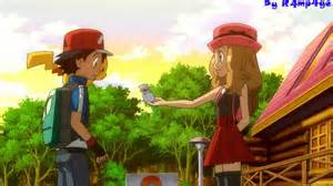 Pokemon ash x serena youtube