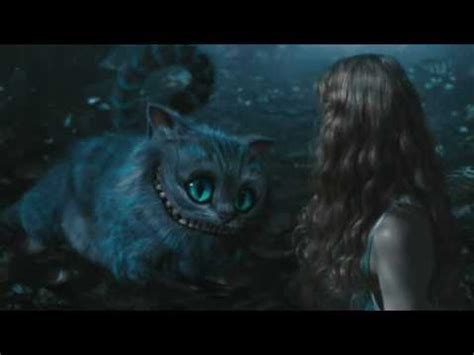 alice in wonderland cheshire cat clip hq youtube