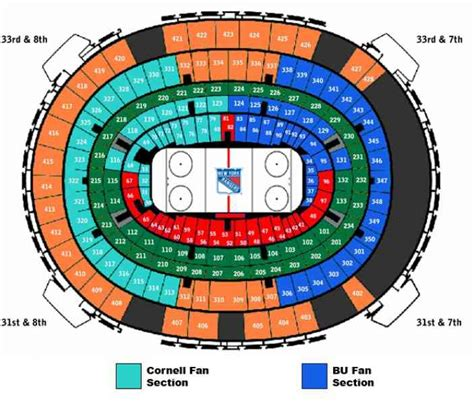 msg seating map map of msg holidaymapq