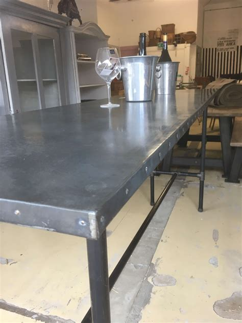 Metal Top Bar Industrial Metal Top Table 163 995 Local Up Ark