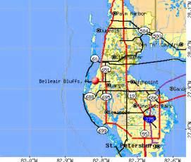 belleair bluffs florida map belleair bluffs florida fl 33770 profile population