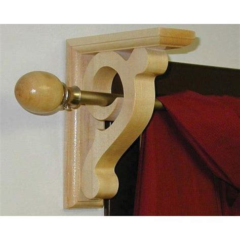 curtain rod sconce hardwood curtain rod sconce van dyke s restorers