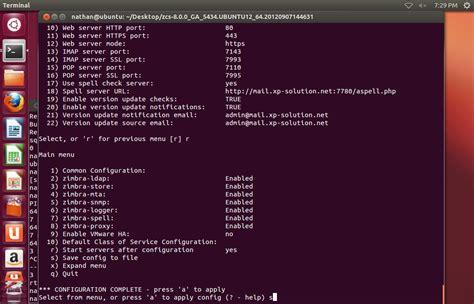 tutorial install zimbra ubuntu zimbra mail belajar jaringan komputer