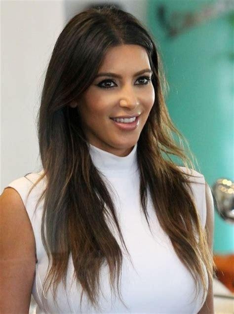 haircuts for long straight brown hair kim kardashian casual brown long haircuts popular haircuts