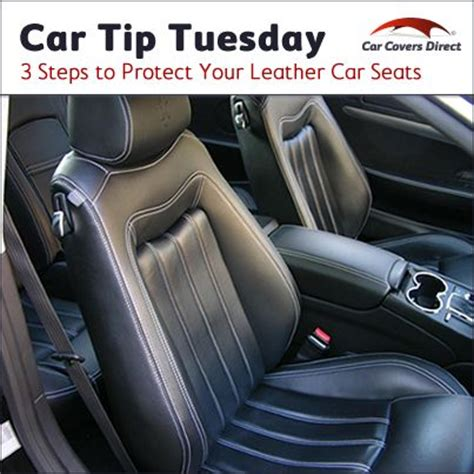 Car Interior Leather Protection by 3 Steps To Protect Your Leather Car Seats Auto Facts And