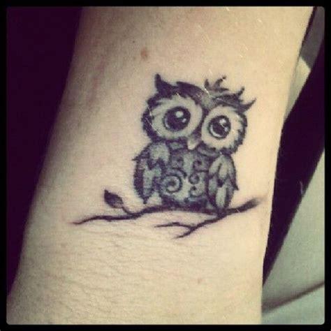 tattoo owl small cute little owl tattoo tattoo pinterest