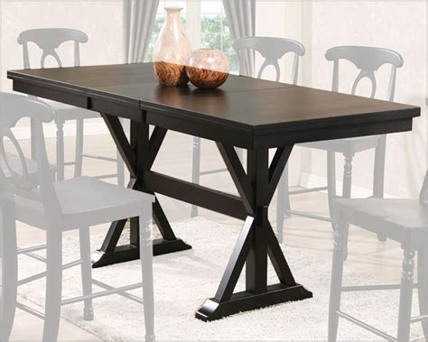 counter height trestle table winners only counter height trestle dining table wo