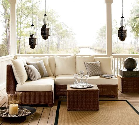 patio living room furniture outdoor garden furniture designs by pottery barn interior design interior decorating ideas